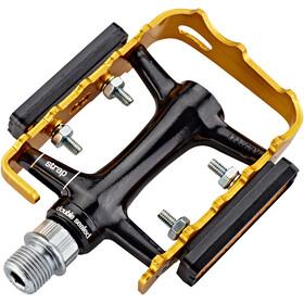 NC-17 Trekking Pro Pedales Aluminio, black/gold
